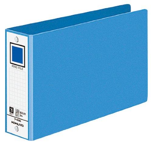 [해외]코쿠 요 반지 파일 2 구멍 B6 가로 330 매 수용 파랑 프 -409NB/Kokuyo ring file 2 holes B6 side 330 sheets accommodation Blue F-409 NB