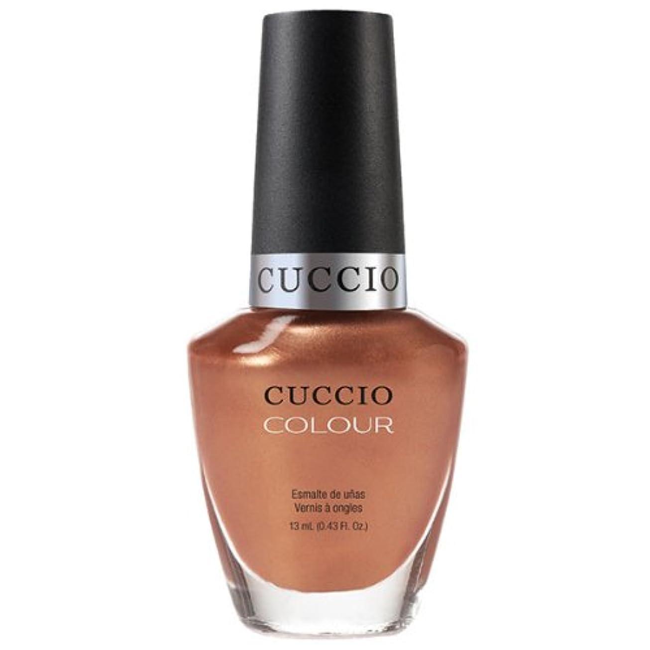 聴覚さておき電気陽性Cuccio Colour Gloss Lacquer - Holy Toledo - 0.43oz / 13ml