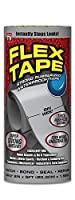 フレックステープゴム引き防水テープ、8インチx 5フィート、グレー