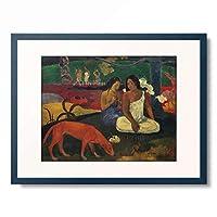 ポール・ゴーギャン Eugene Henri Paul Gauguin 「Arearea」 額装アート作品