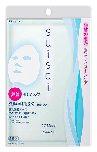 suisai(スイサイ) 3Dマスク 27mL×4枚 Kanebo(カネボウ)