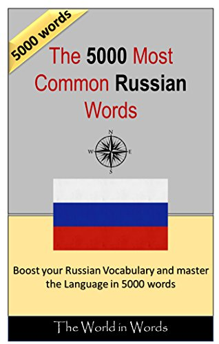 amazon the 5000 most common russian words vocabulary training