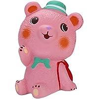 Oldeagle かわいいクマ ゆっくり元に戻る圧力スクイーズ ストレス解消おもちゃ 子供と大人用