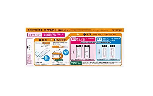 【第1類医薬品】ハイテスターH 10回用