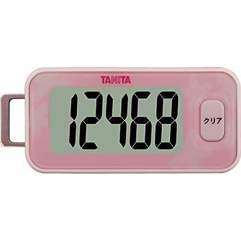 タニタ(TANITA) 3Dセンサー搭載歩数計 桜 FB-731-PK