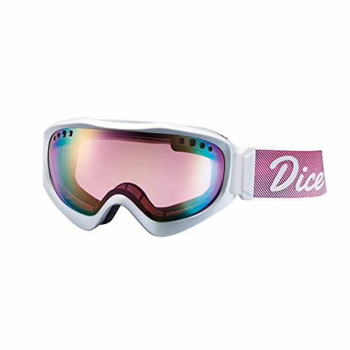 16-17 DICE ダイス ゴーグル JACKPOT ジャックポット JPS1613610 [Pastel Pink Mirror Drop - Pola Pink ba...