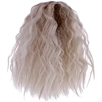 Fenteer DIYメイキング  人形 ウィッグ かつら  波状 カーリーヘア  12インチ ブライスドール対応  全4種類選べる  - 03