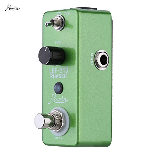 Rowin LEF-313 位相器 フェイザー・ペダル ギターエフェクトペダル エフェクト 魔法の小箱♪位相器