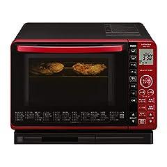 日立 スチームオーブンレンジ 22L 過熱水蒸気 ヘルシーメニュー フラット庫内 お手入れ簡単 MRO-VS7 R