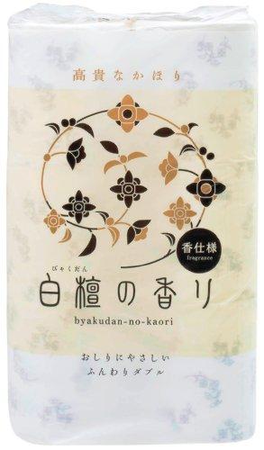 トイレットペーパー 白檀の香り 12RW -