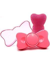 プラスチックポータブル弓の結び目Shunfa櫛マッサージマッサージ頭皮櫛美容メイクアップツールかわいい