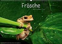 Froesche (Wandkalender 2020 DIN A2 quer): Froschlurche aus aller Welt (Monatskalender, 14 Seiten )