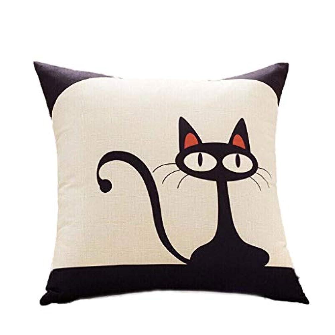 矢印高度な幸運なJiaba2018漫画の枕リビングルームのソファのクッション枕のベッド背もたれ枕の車の四角い枕クッションの腰のパッド