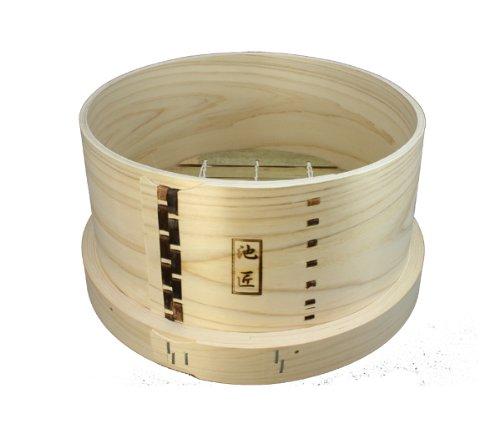 日本製 池匠 ひのき和セイロ(蒸篭・板せいろ) 27cm