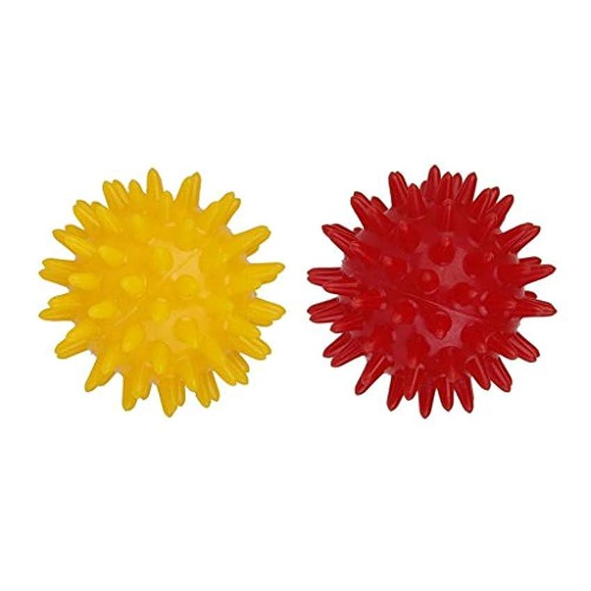 牛肉芝生達成可能マッサージツール マッサージボール セルフマッサージ トリガーポイント 直径:5.5cm 2個セット