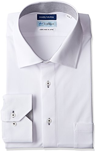 (はるやま) HARUYAMA(ハルヤマ) i-shirt 完全ノーアイロン 長袖 ワイドカラーアイシャツ M151180094 01 ホワイト 3L86(首回り45cm×裄丈86cm)