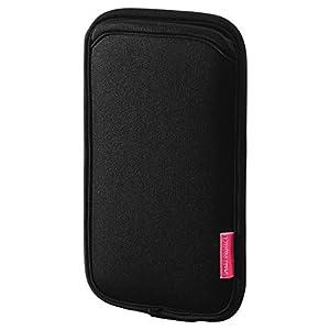 サンワサプライ マルチスマートフォンケース(5.5インチ用) ブラック PDA-SPC15BK