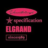 エルグランド mix カッティング ステッカー ショッキングピンク 濃桃