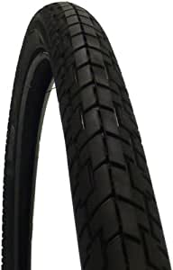 武田産業 パンクしにくいタイヤ 26x1 3/8WO ブラック S107D26