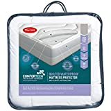 Tontine Comfortech Quilted Waterproof Mattress Protector, Single