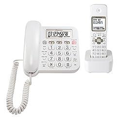 パイオニア Pioneer TF-SA15S デジタルコードレス電話機 子機1台付き 迷惑電話対策 ホワイト TF-SA15S-W  【国内正規品】