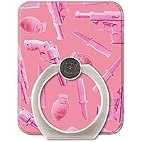 【スマートフォン対応リング】JENNY KAORI(ジェニーカオリ)×Gizmobies/Pink Violence[AJ-0037-RING-A]