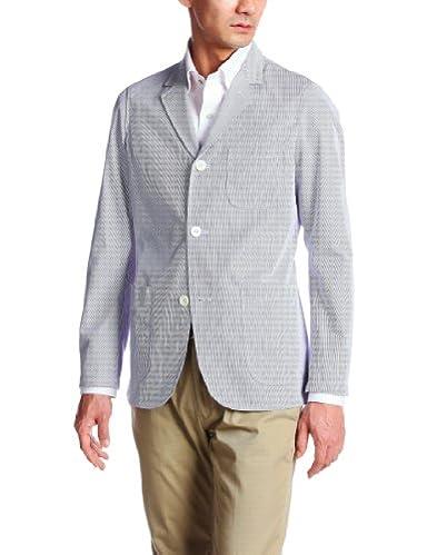 Cordlane 3-button Jacket 11-16-0117-277: Blue