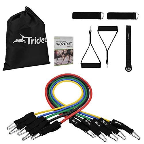 Trideer トレーニングチューブ (五本セット)