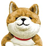 WANTA わん太 柴犬 添い寝 ぬいぐるみ ほっこり顔 ゆるイヌ BIGサイズ 全⻑約80cm 茶柴 画像