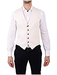 (タリアトーレ) Tagliatore メンズ トップス ベスト・ジレ White Silk Vest [並行輸入品]