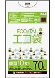 ゴミ袋 70L 800x900x0.050厚 半透明 10枚 LLDPE素材