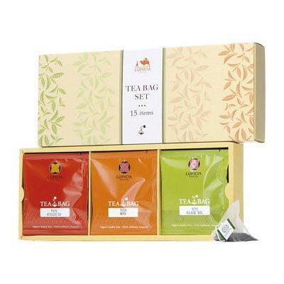 ルピシア ティーバッグ 15種セット 1箱(15バッグ入) アソート LUPICIA 紅茶 ギフト セイロン アールグレイ マスカット ティーバッグセット