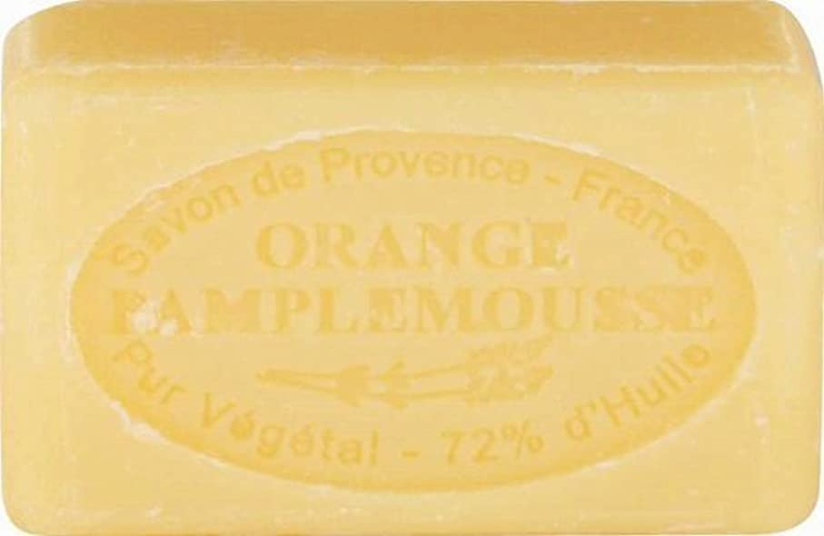 ふける霊不規則性ル?シャトラール ソープ 60g オレンジグレープフルーツ SAVON60