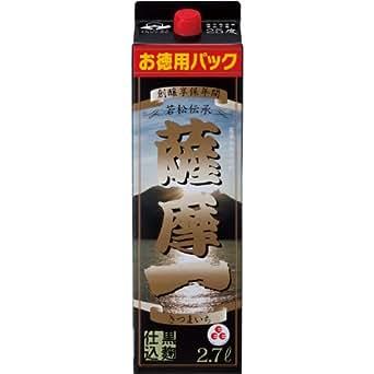 若松酒造 薩摩一 芋 25度 2700ml×4本