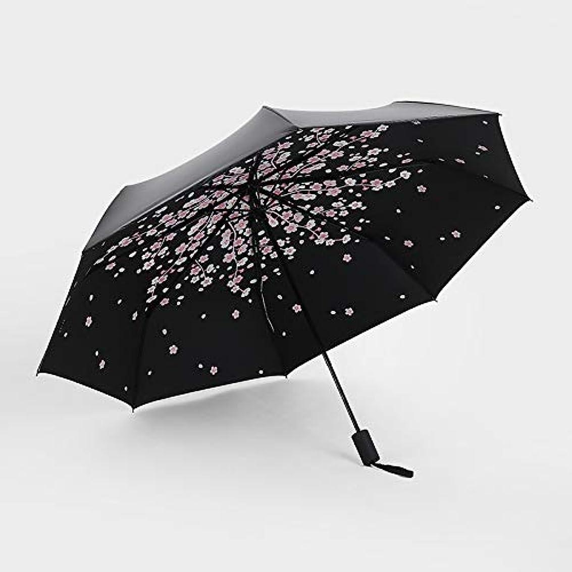 非公式荷物収束HAPPY HOME 黒プラスチック傘クリエイティブ30%日焼け止め黒プラスチック傘紫外線日焼け止め雨デュアルユース黒プラスチック傘