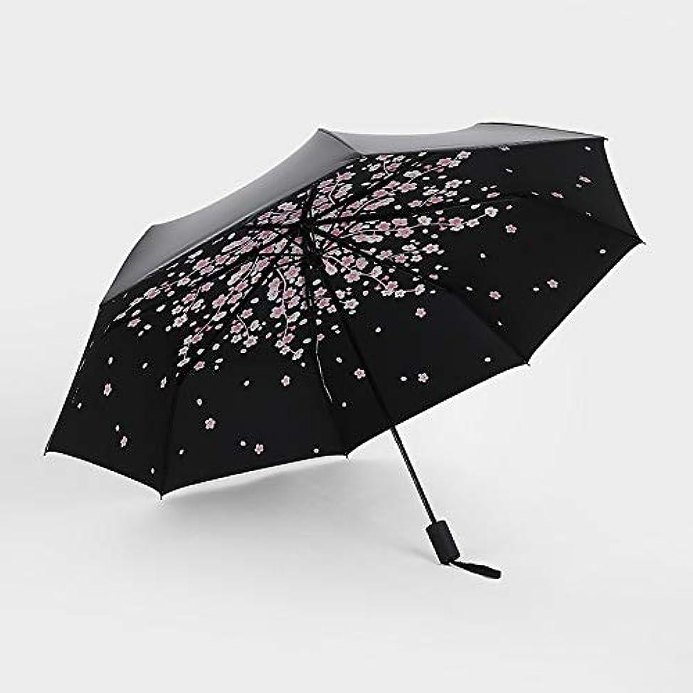 トーク腹素敵なHAPPY HOME 黒プラスチック傘クリエイティブ30%日焼け止め黒プラスチック傘紫外線日焼け止め雨デュアルユース黒プラスチック傘