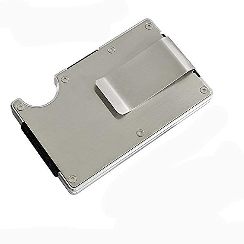 テクスチャーファランクスコイルHONB スマートフォンよりも薄い財布 マネークリップ アルミニウム