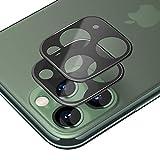 iPhone 11 Pro Maxカメラ保護フィルム iPhone 11 Pro レンズ保護フィルム SLEO iPhone11 Pro Max全面ガラスフィルム レンズ 保護フィルム カメラ液晶保護カバー 硬度9H 自動吸着 超薄 99%高透過率 耐衝撃 飛散防止 全方位保護カバー(2枚)(ブラック)