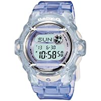 Casio Baby-G BG-169R-6 Transparent Lilac Women's Digital Sports Watch