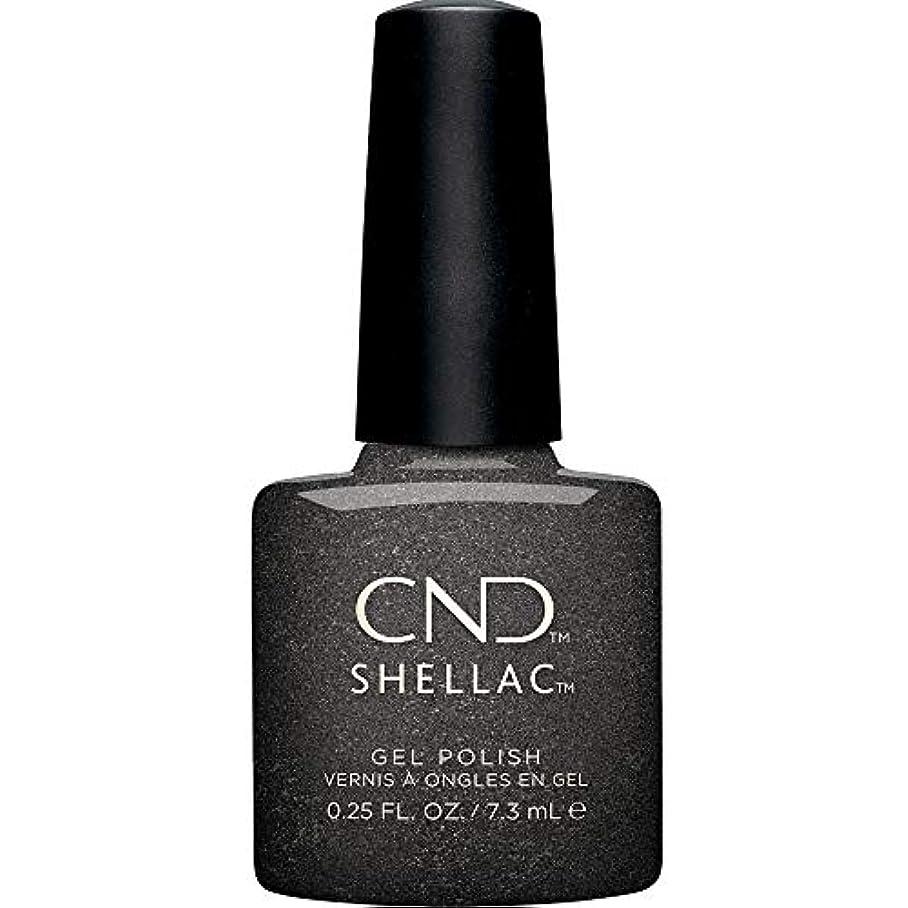 厳密にフクロウ効率CND Shellac - Crystal Alchemy Winter 2019 Collection - Powerful Hematite - 0.25oz / 7.3ml