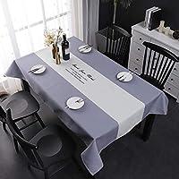 防汚防水テーブルクロスポリエステル家庭用レストランホテル装飾テーブルリネン (Size : 100*140cm)