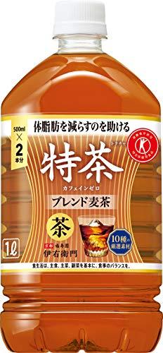 伊右衛門 特茶 カフェインゼロ 1L ×12本