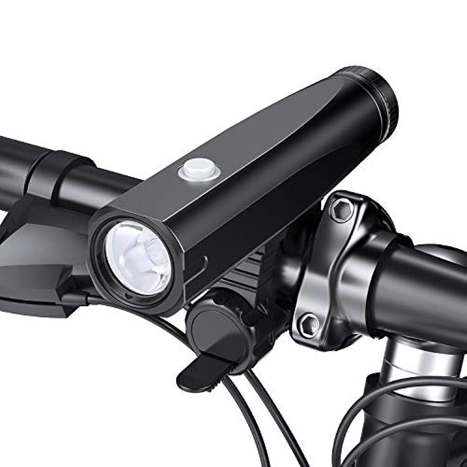 キノコ延ばす共産主義iMise 自転車ライト 自転車前照灯 1000ルーメン IPX6防水 USB充電式 高輝度自転車ヘッドライト 5点灯モード