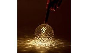 Kvel (クベル) - 音を使って「光の花」を咲かせる LEDキャンドルライト - 本体