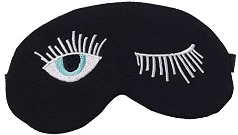 死の顎ミリメートルわずらわしい漫画の長いまつげの睡眠マスク睡眠ゴーグルアイカバー