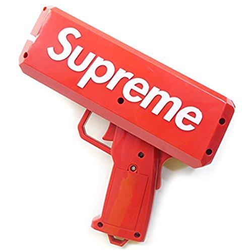 Supreme(シュプリーム)17SS The Cash Cannon Money Gun マネーガン キャッシュ キャノン  (レッド) [並行輸入品]