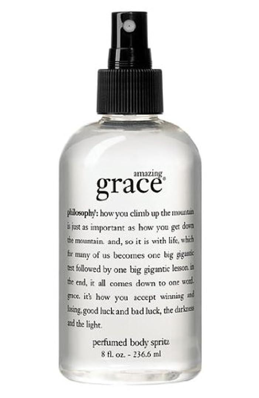 豆腐歌う料理amazing grace perfumed body spritz (アメイジング グレイス パフュームドボディースプリッツ) 8.0 oz (240ml) for Women