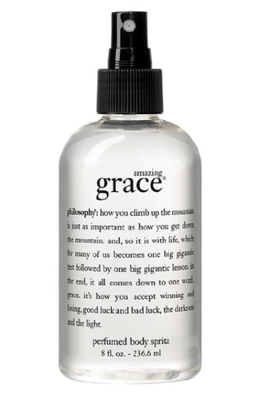 奨励メジャー規制するamazing grace perfumed body spritz (アメイジング グレイス パフュームドボディースプリッツ) 8.0 oz (240ml) for Women