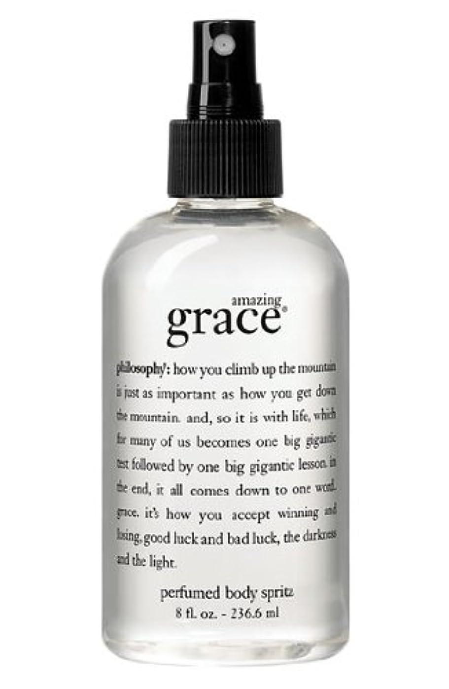 訪問契約した詐欺amazing grace perfumed body spritz (アメイジング グレイス パフュームドボディースプリッツ) 8.0 oz (240ml) for Women