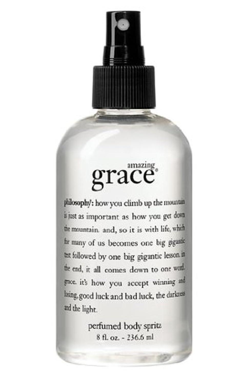 小麦ハーフ突然amazing grace perfumed body spritz (アメイジング グレイス パフュームドボディースプリッツ) 8.0 oz (240ml) for Women
